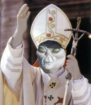 The Pope is an Alien